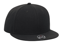 Otto-Youth Wool Blend Flat Gray Under Visor Pro Style Snapback
