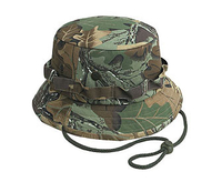 Camouflage Cotton Twill Bucket Hats