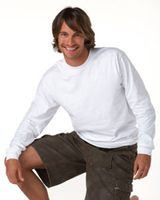 Hanes 6.1 oz Ringspun Long-Sleeve Beefy-T, Tagless