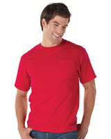 Hanes 6.1 oz Ringspun Cotton Beefy-T with Pocket