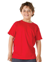 Blank Shirts : Hanes Youth 5.2 oz. ComfortSoft Cotton T-Shirt