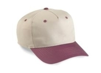 Cobra-5-Panel Low Profile Two Tone Twill Cap