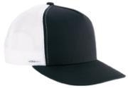 Image Yupoong Flat Billed Two Tone Trucker Cap