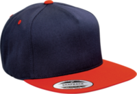 Yupoong-Classic 5 Panel Snapback Two Tone