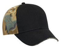 Camouflage Brushed Cotton Twill Sandwich