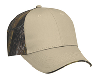 Camouflage Brushed Cotton Twill Sandwich Low Profile