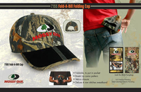 Mossy oak Fold-A-Bill folding cap
