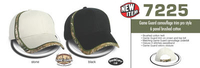 Game Guard camo Trim Pro style 6 panel brushed cap image