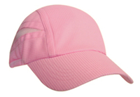 Image Super Light Weight Relaxed Performance Running Cap with Elastic Tie
