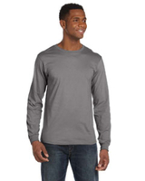 Anvil 4.5 oz Cotton Long-Sleeve Fashion-Fit Tee