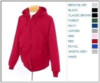 Jerzees 8 oz 50/50 Full-Zip Hood