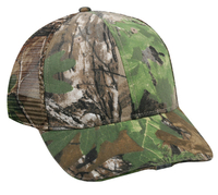 Outdoor Camo Mesh Hi Beam LED Light Cap