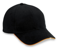 Cobra-6 Panel Brushed Reflective Sandwich Hat