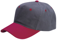Cobra-5 Panel Low Profile Brushed Material Cap