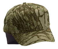 5 Panel Low Profile Camouflage With Ear Flaps