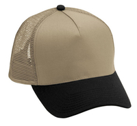 Budget Caps | Cobra-5 Panel Low Pro Cotton Mesh Back