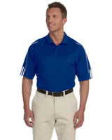 Adidas Golf Men's ClimaLite® 3-Stripes Cuff Polo