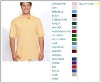 Cotton Deluxe by Anvil 6.5 oz Cotton Pique Knit Polo