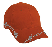 Outdoor-Barbed Wire Design Cap
