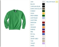 Blank Youth Shirts : Gildan 7.75 oz 50/50 Blend Crewneck