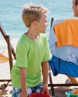 Blank Shirts : Gildan 5.5 oz Heavy Cotton Youth Tee