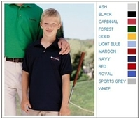 Gildan 5.6 oz 50/50 Youth Jersey Polo