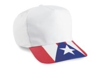 Cobra Budget Cap | Cobra-5-Panel Puerto Rico Flag