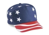 Cobra-Budget Caps 5-Panel USA Flag