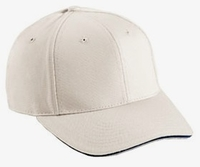 Cobra-6-Panel Mid-Profile Premium Twill with Sandwich