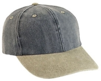 Cobra-6-Panel Mid-Profile Washed Cotton Twill Cap with Extended Bill