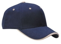 Cobra-6-Panel Mid Pro Brushed with Wave Visor