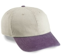 Budget Caps | Cobra 6-Panel Pigment Dyed Stone Washed Cap