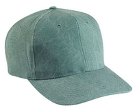 Cobra-6-Panel Pro Style Stone Washed Canvas Cap