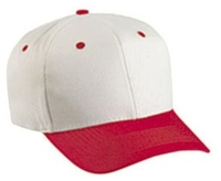 Cobra-6-Panel Pro Natural cap