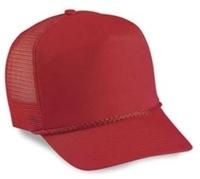 Budget Caps | Cobra-5-Panel Twill Mesh Golf With Braid