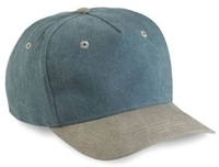 Budget Caps | Cobra-5-Panel Low Profile Two Toned Stone Washed