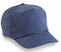 Budget Caps | Cobra-5-Panel Stone Washed Canvas