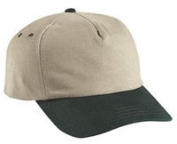 Budget Caps | Cobra-5-Panel Heavy Brushed Relaxed Crown