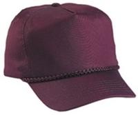 Budget Caps : Cobra-5-Panel Classic Twill Golf Cap