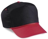 Budget Caps | Cobra-5-Panel Two Tone Twill Golf Cap