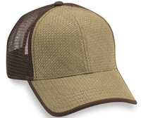 Cobra-Straw Mesh Baseball Cap