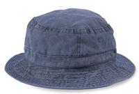 Cobra-Stone Washed Cotton Twill Bucket Hat
