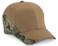 Cobra-6 Panel Cotton Twill w/Side Edged BS Camo