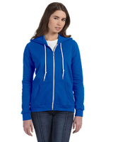 Anvil Ladies' Full-Zip Hooded Fleece