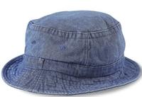 Image Cobra-Stone Washed Denim Bucket Hat
