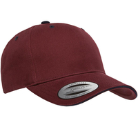 Yupoong-Brushed Cotton Twill Cap w/Sandwich Visor