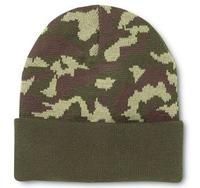 Cobra -Knit Military Green Camo Beanie