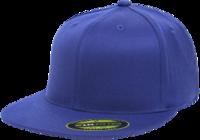 Yupoong Brand Flat Bill 210 Fitted Pro Baseball On-Field Shape