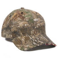 Image Outdoor Cap Stars and Stripes Sandwiched Visor