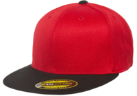 Yupoong Brand Flat Bill Premium 210 Fitted